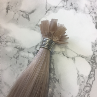 "INDIAN Mini Flat Tip Hair Extensions -  22/24"" 1g"